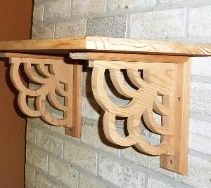 Shelf – Fancy Scroll Design