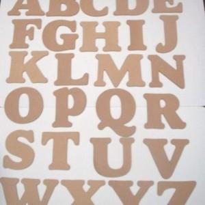 Alphabet Capitals 6″