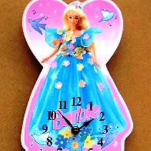 Barbie Theme Clock