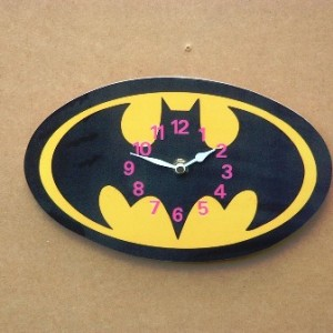 Batman Emblem Clock