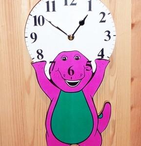 Barney Clock