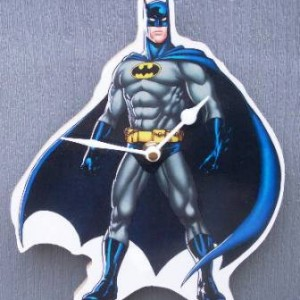 Batman Standing Clock
