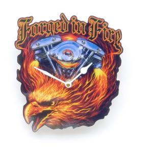 Forged In Fire  Biker Clock