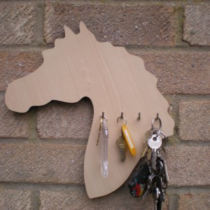Horse Head Shape Keys Holder