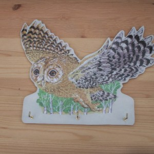 Key Holder OWL Flying