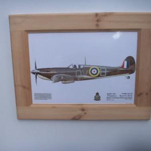 "Spitfire ""sea"" Very Rare Print"