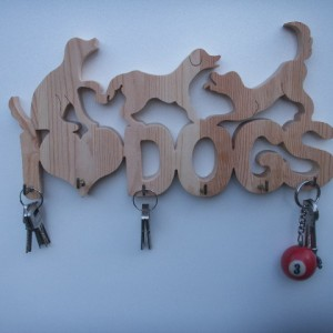 Key Holder I Love Dogs