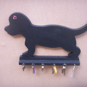 Dog Key Holder & Chalk Board