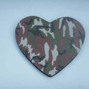 Heart Camouflage Theme