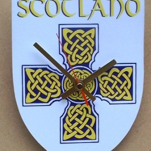 Scottish Theme Clock 01
