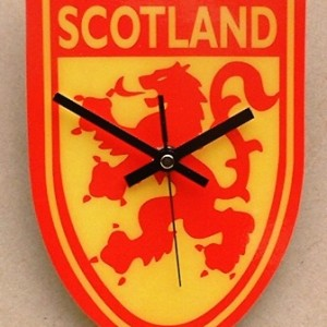 Scottish Theme Clock 02