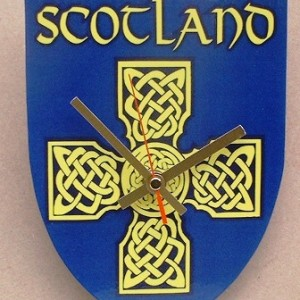 Scottish Theme Clock 04