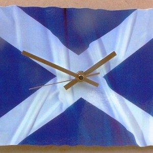 Scottish Theme Clock 07