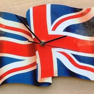 British/UK Flag Clock 08