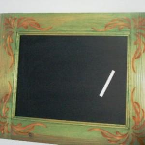 Chalkboard Engraved Surround Green