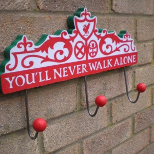 Liverpool Sign Clothes Holder