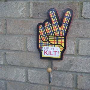 Scottish Theme Two Fingers
