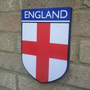 England Flag Plaque