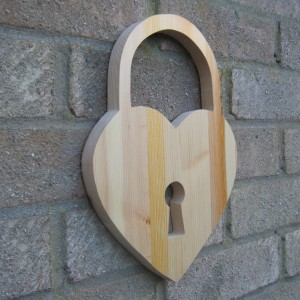 Heart Lock Design