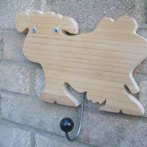 Cow Wooden With Hanger